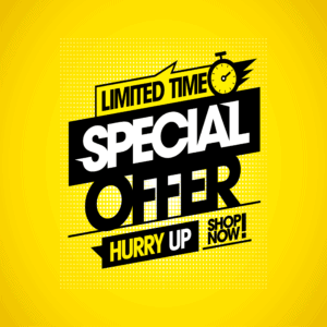 Limited Time Special Offer