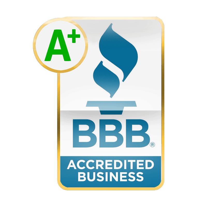 accreditations - BBB - Better Business Bearu A+ Acredited Business